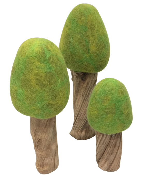 Papoose Spring Trees, set of 3