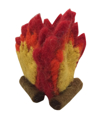 Papoose Mini Felt Fire