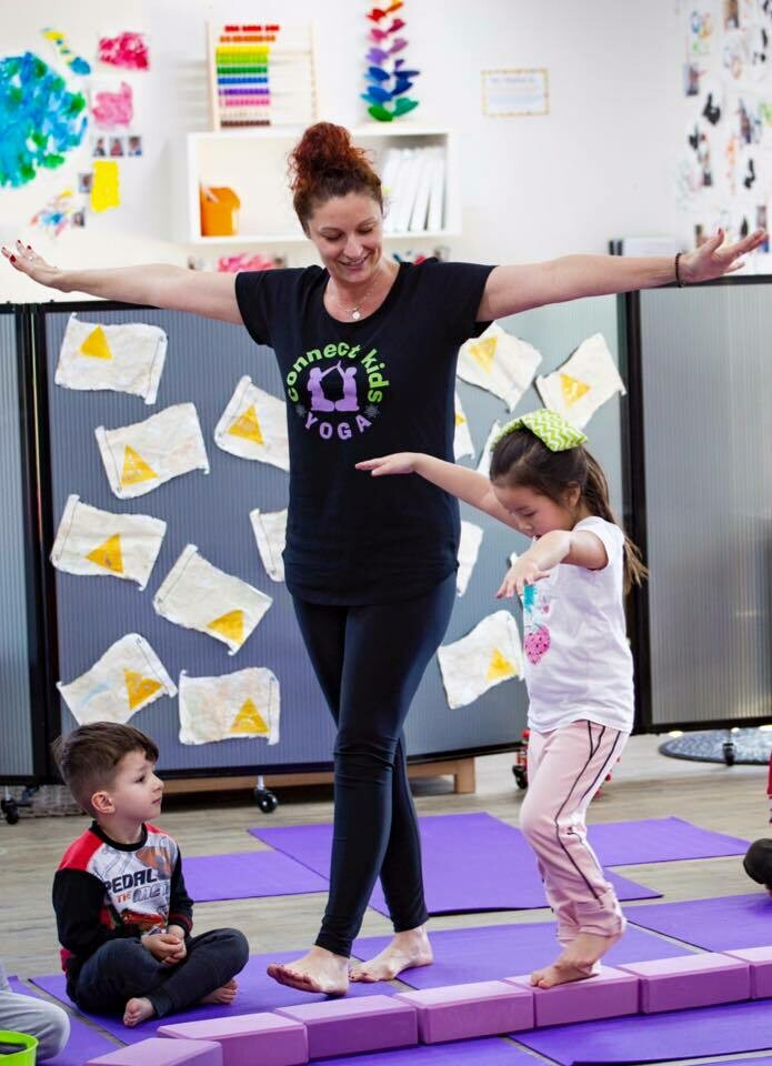 connect kids YOGA Program for Early Learning Services