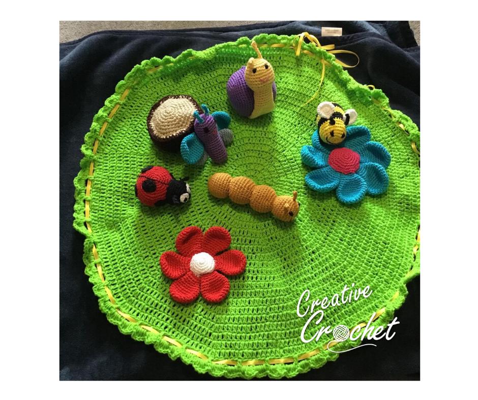 Garden playmat
