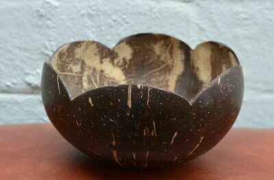 Crafted Coconut Shell Bowl
