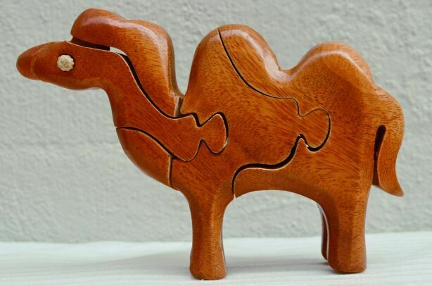 Wooden 3D puzzle - Animal Shapes