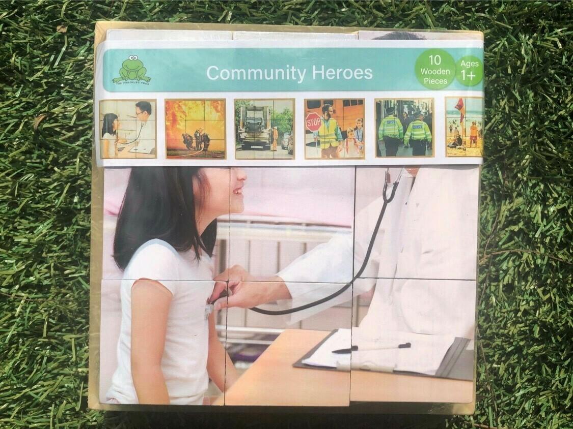Community Heroes Puzzle
