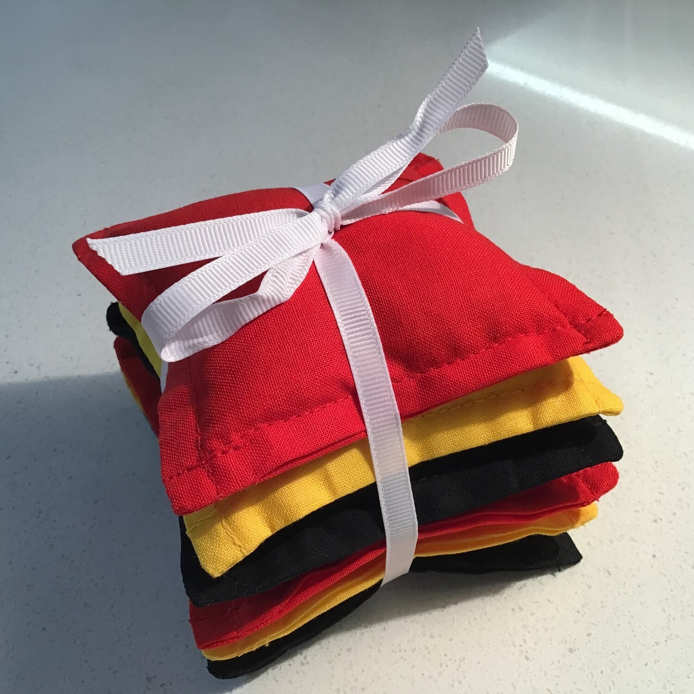 NAIDOC Inspired Bean Bag Stack - Aboriginal Colours