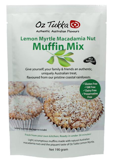 Lemon Myrtle Muffin Mix~ gluten free