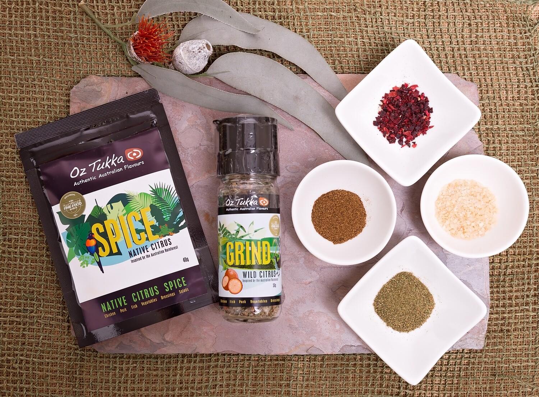 Native Citrus Spice Rub