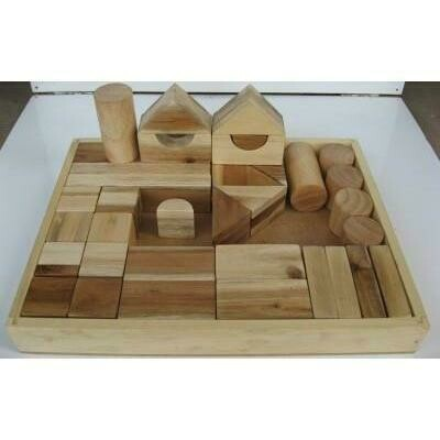 Natural Wooden Blocks