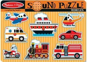 Sound Puzzle - Vehicles