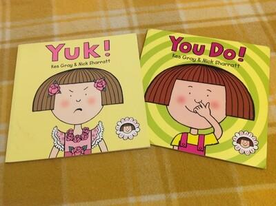 A Daisy Book Set of 2