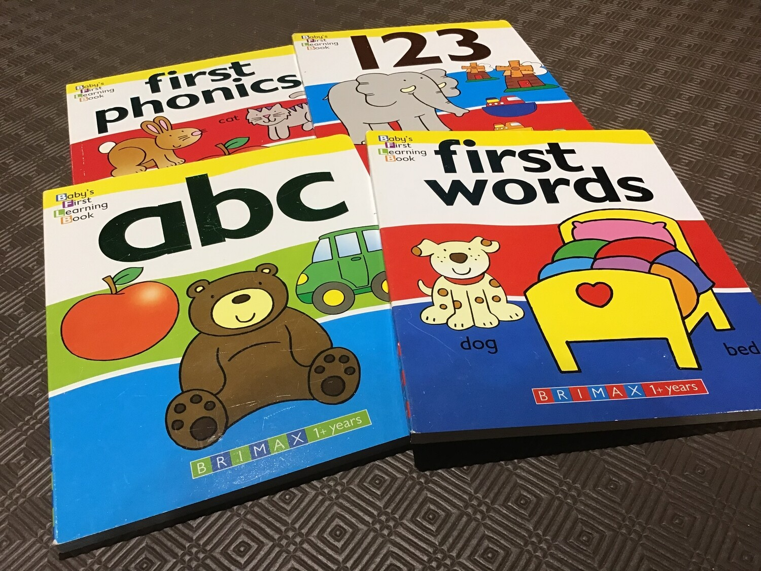 Baby's First Learning Book Set of 4