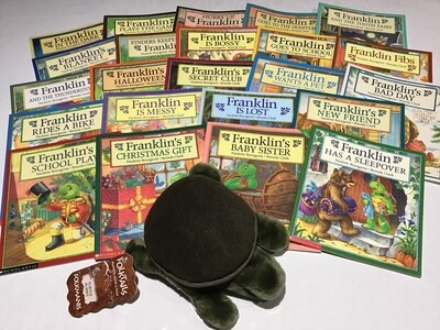 Franklin Collection Set of 23 with Puppet