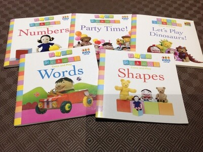 Come and Play Set of 5