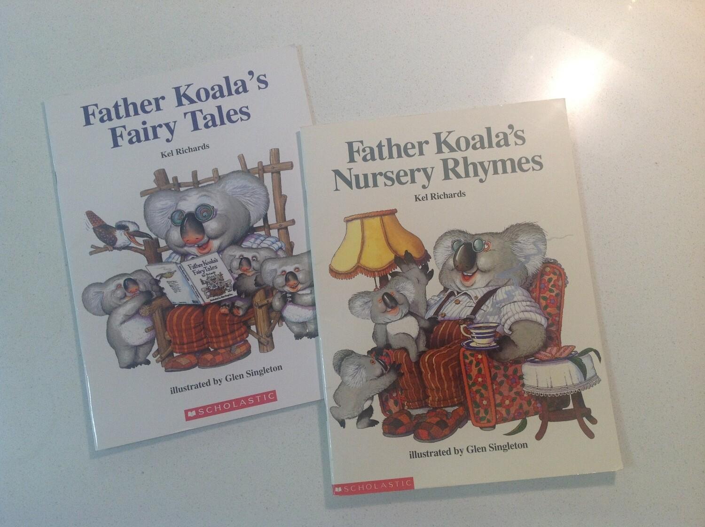 Father Koala's Set of 2