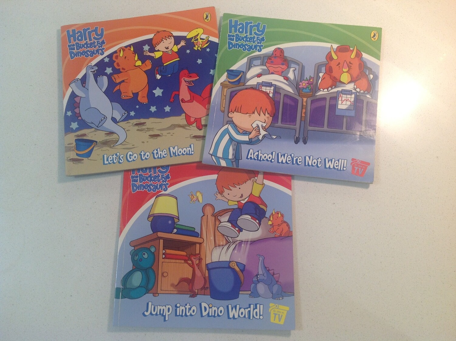 Harry and the Bucketful of Dinosaurs Set of 3