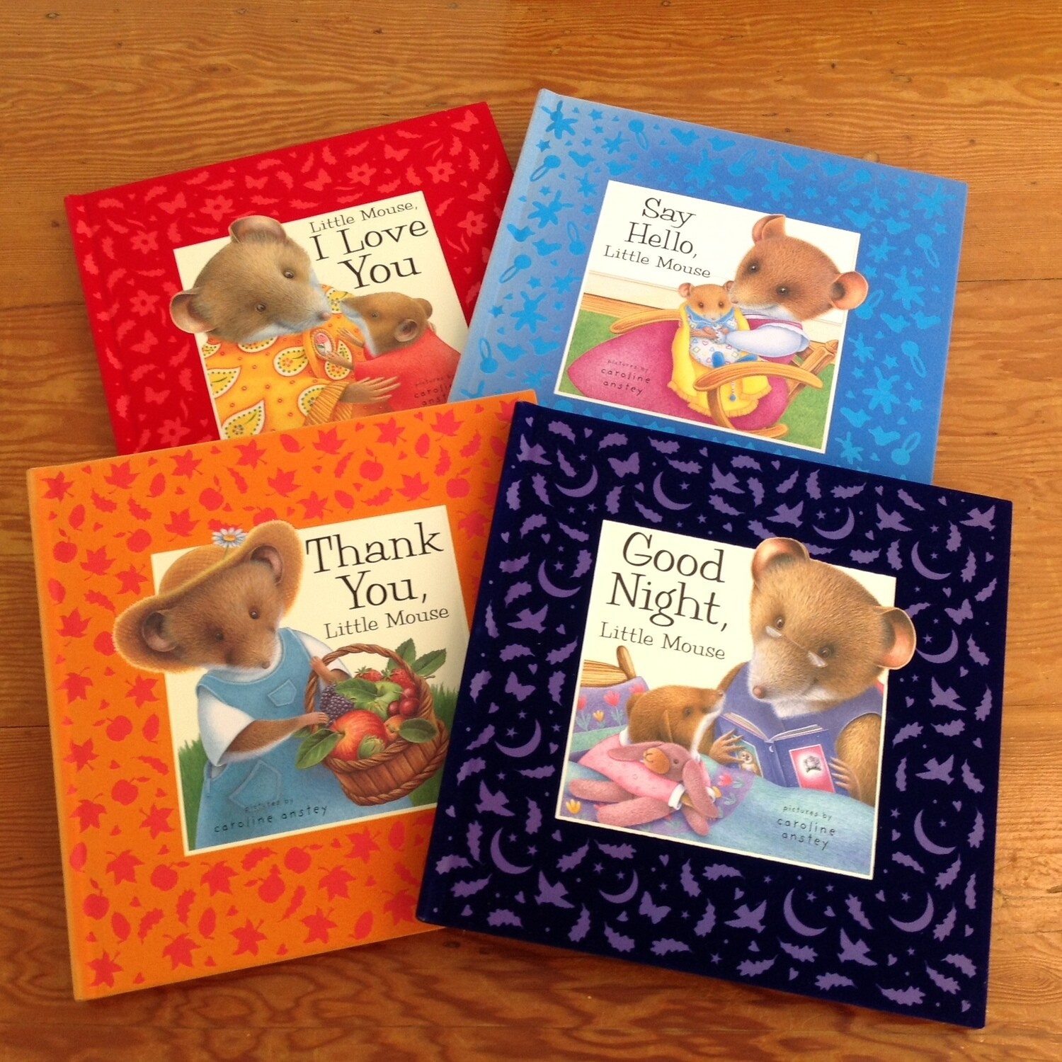 Little Mouse Set of 4