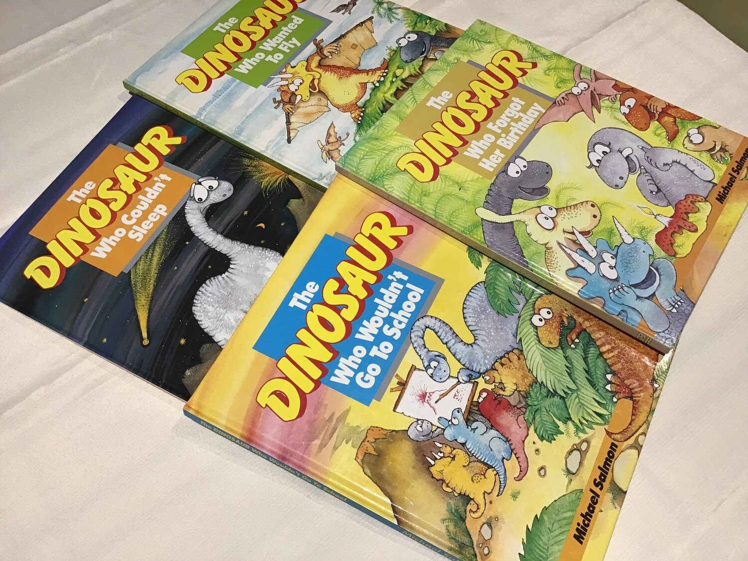 The Dinosaurs Set of 4