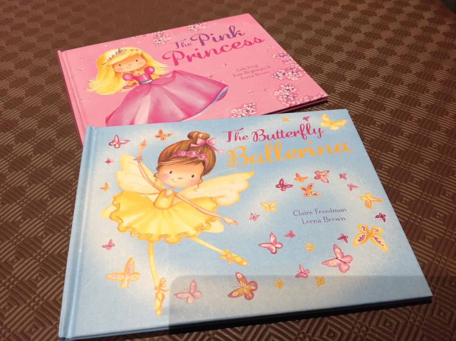 The Pink Princess and The Butterfly Ballerina Set of 2