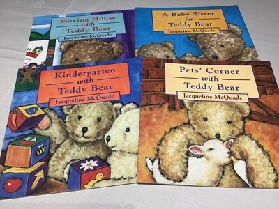 Teddy Bear Collection Set of 4