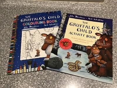 The Gruffalo's Child Activity Book Set of 2
