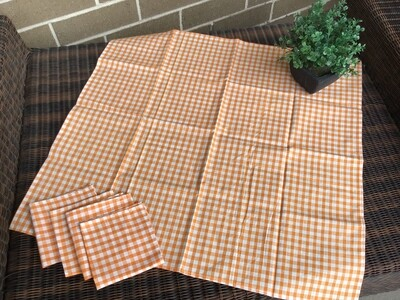 Picnic Tablecloth and Napkin Set