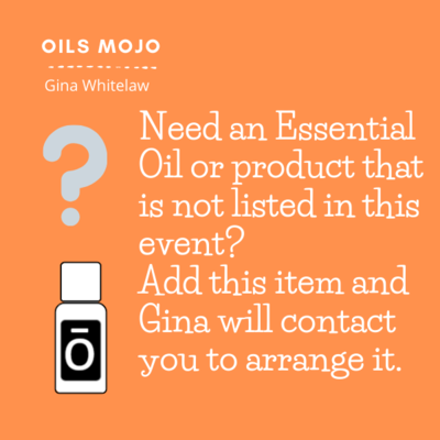I need an oil blend that is not listed
