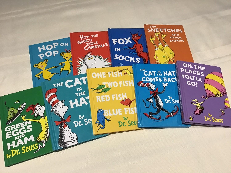 Dr Seuss Set of 9