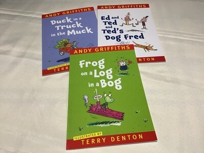 Andy Griffiths Collection Set of 3