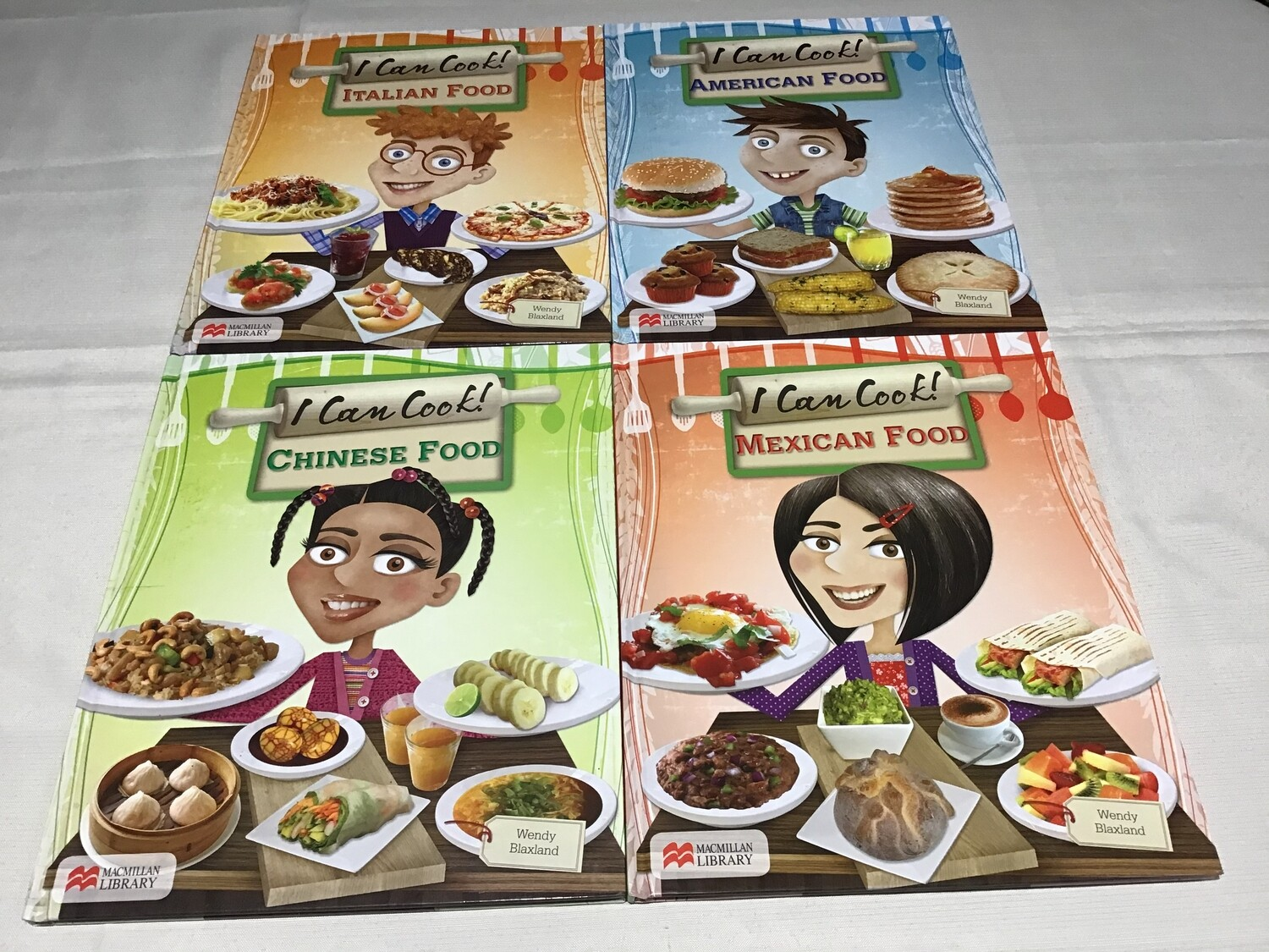 I Can Cook Set of 4