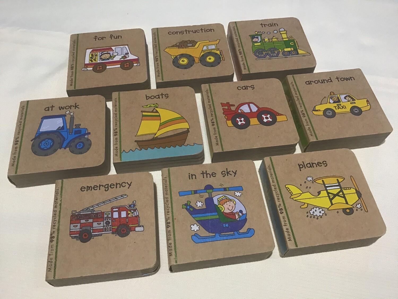 Little Vehicles Set of 10