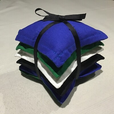 NAIDOC Inspired Bean Bag Stack - Torres Strait Islander Colours