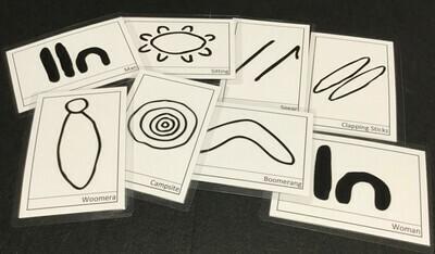 NAIDOC Inspired Symbols Pack - Tools and People