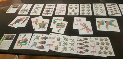 NAIDOC Inspired Aboriginal Art Game Cards