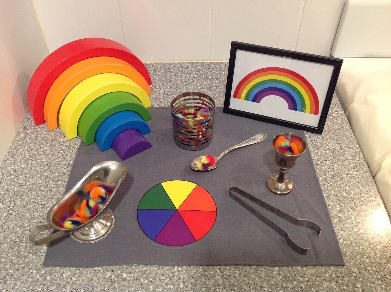 Rainbow Play Set