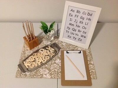 Letter Play Set