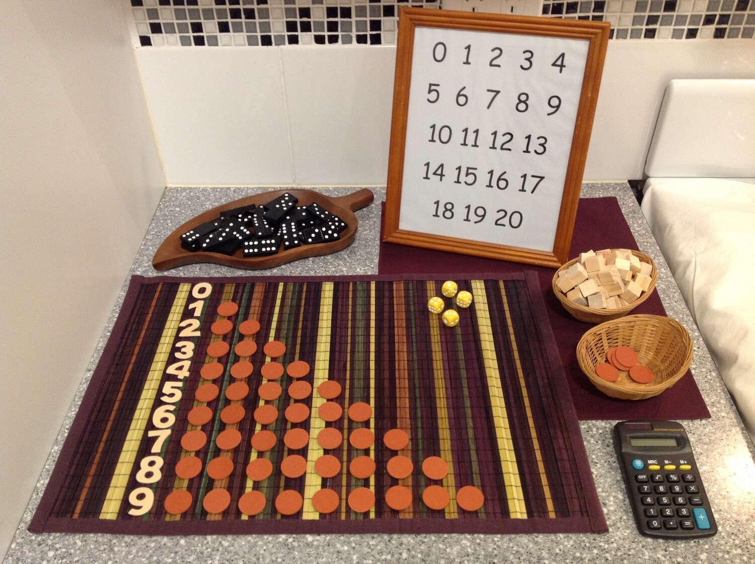 Number Play Set
