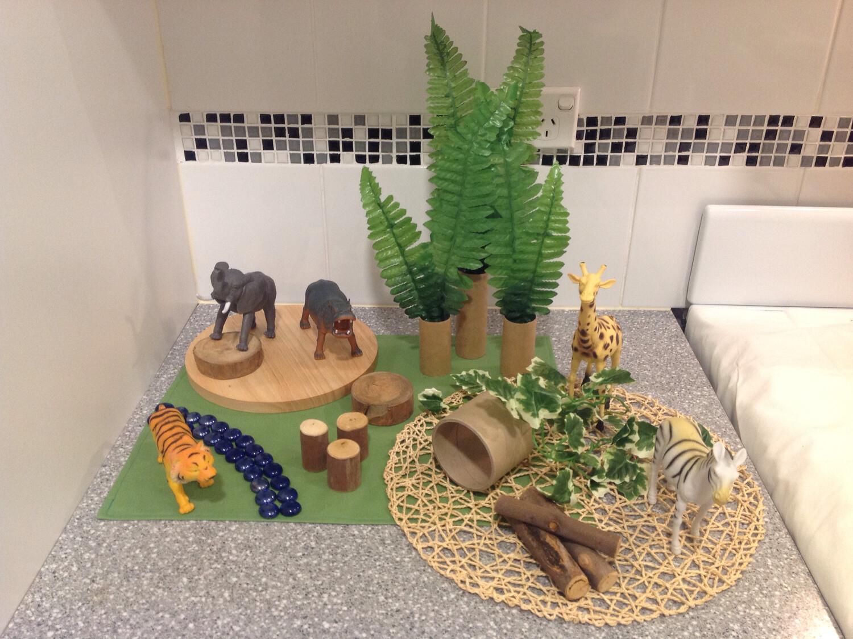 Wild Animals Play Set