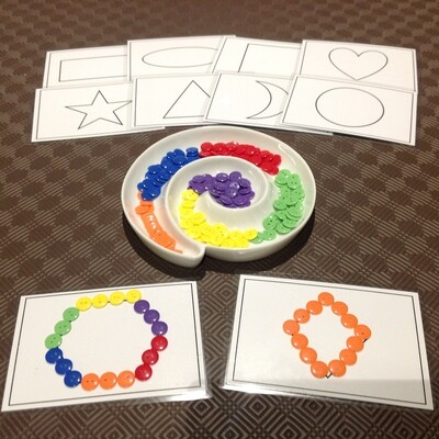 Button and Shape Play Set