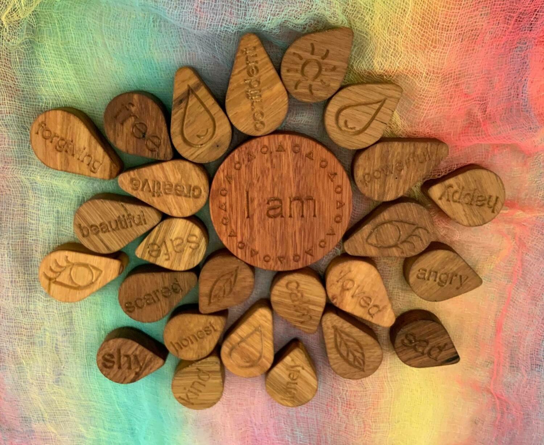"""I AM"" Mandala Puzzle, 25pcs"