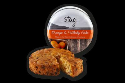Stag Bakery - Orange & Whiskey Cake in Tin