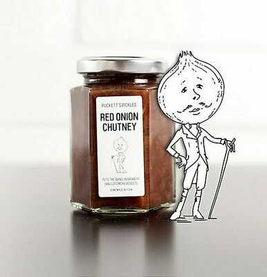 Pucketts Pickles Red Onion Chutney