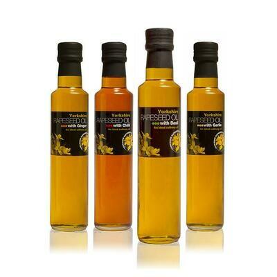 Yorkshire Rapeseed Oil - Deli Oils 250ml