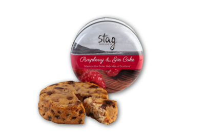 Stag Bakery - Raspberry & Gin Cake in Tin