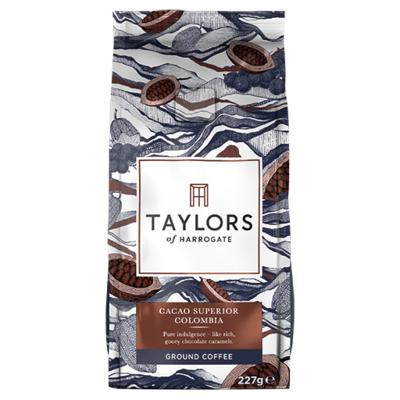 Taylors Ground Coffee - Cacao Superior Colombia