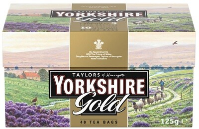 Yorkshire Gold Tea Bags (40s)