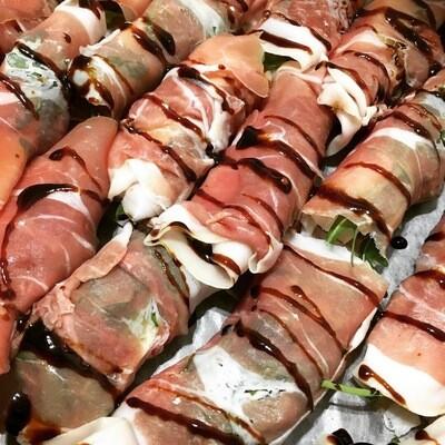 Mozzarella & Parma Ham Canapes (M2O)