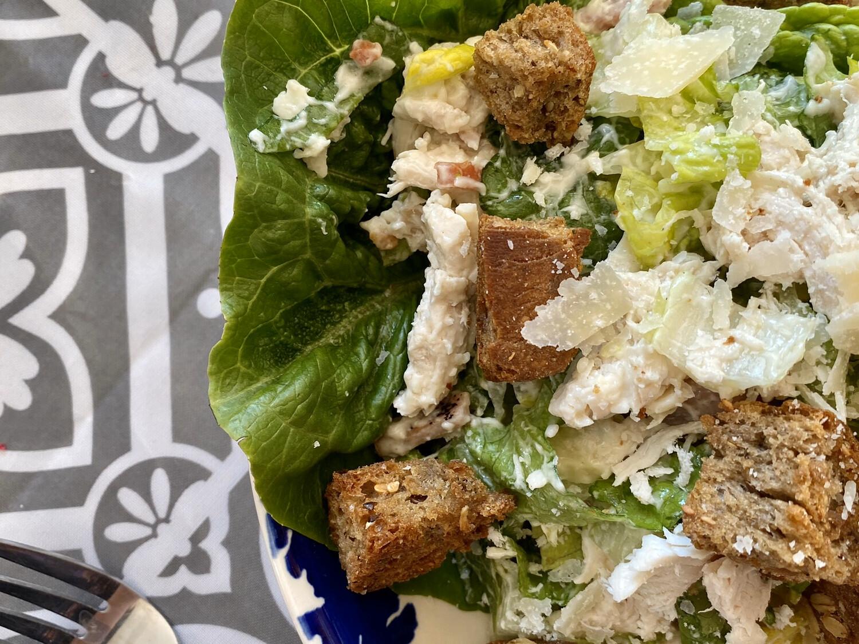 Chicken Caesar Salad (portion)