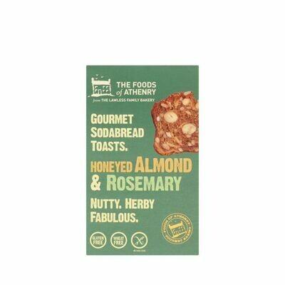 Foods of Athenry - Honeyed Almond & Rosemary Soda Bread Toast