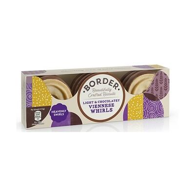 Border Milk Chocolate Viennese Whirls