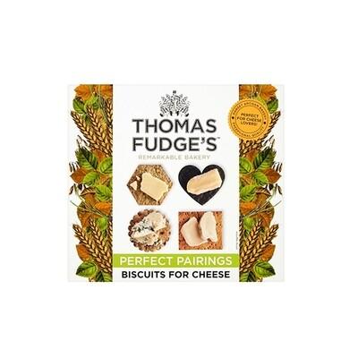 Thomas Fudge Quartet Biscuits for Cheese