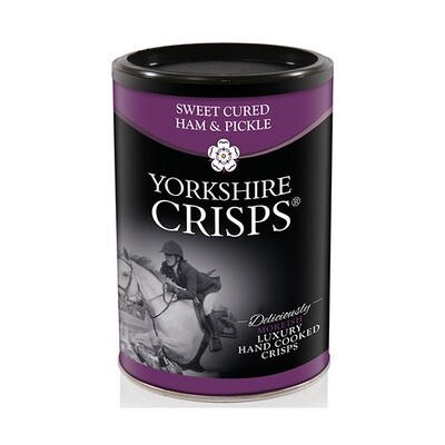Yorkshire Crisps - Ham & Pickle (100g Tub)